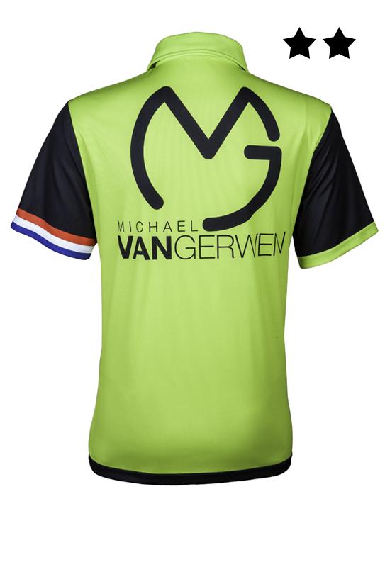 Michael van Gerwen Shirt 2018 Back