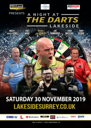 A Night at the Darts – Lakeside November 2019