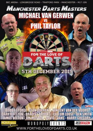 Manchester Darts Masters December 2019