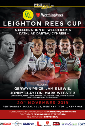 Darts Event in Merthyr