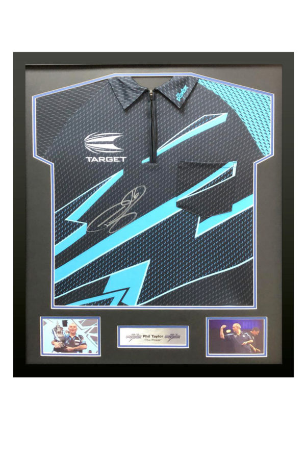 Phill Taylor Signed Shirt